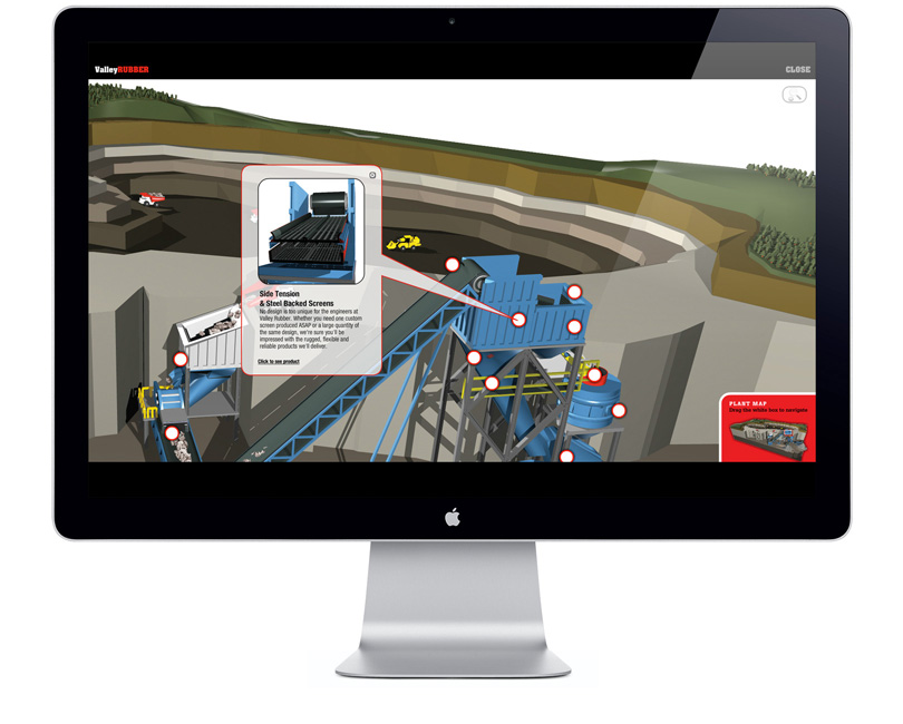 Valley Rubber interactive mine